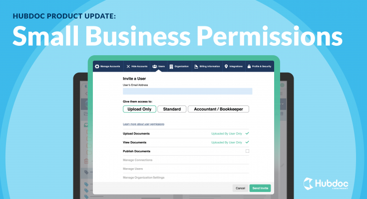 Hubdoc Permissions and Roles